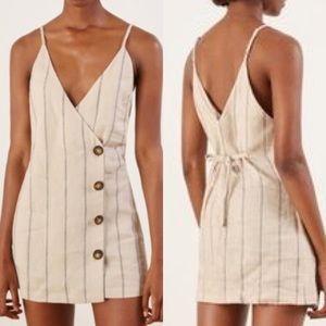 Reformation Cayman Linen Dress